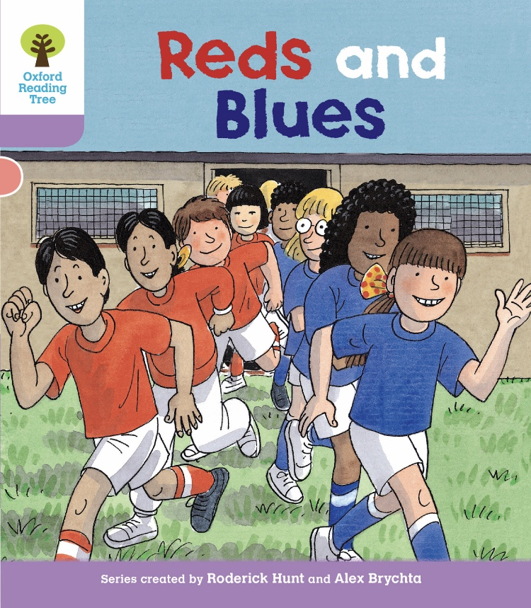 【ORT Level 1+】#4 Reds and Blues のお話。
