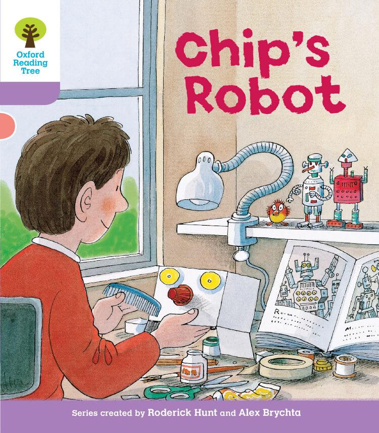 Chip's Robot  Oxford Reading Tree 英語多読