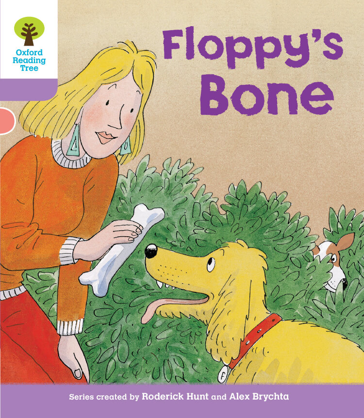 Floppy's Bone Oxford Reading Tree  英語多読