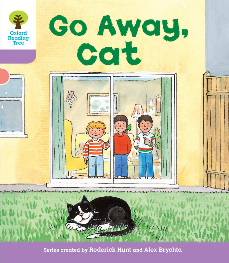 Go Away, Cat Oxford Reading Tree 英語多読 ort