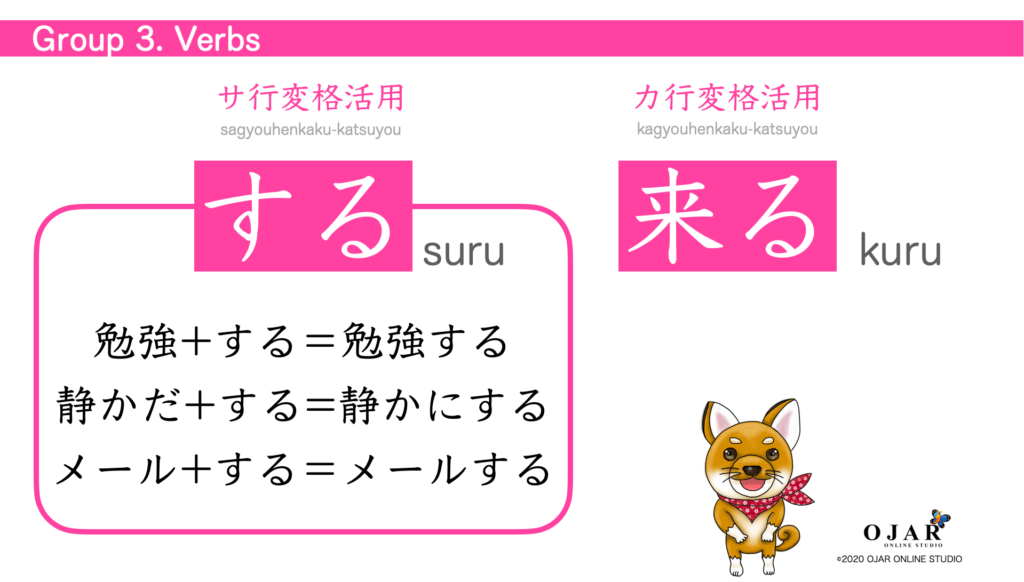 Group 3 verbs 6