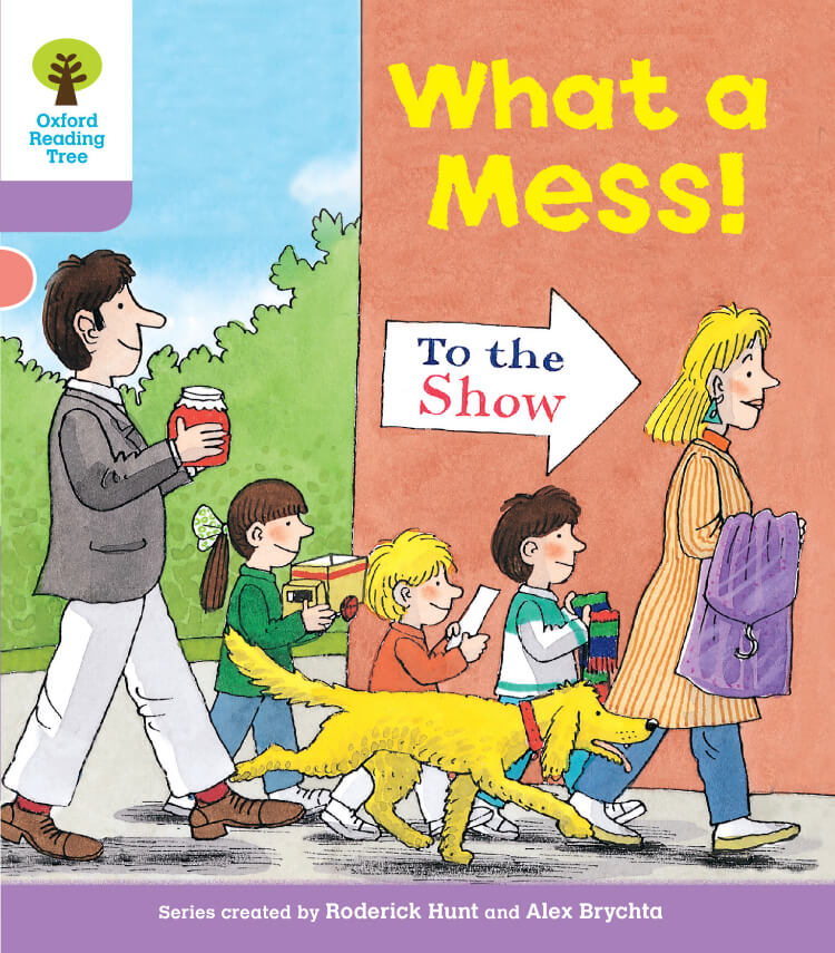What a Mess Oxford Reading Tree
