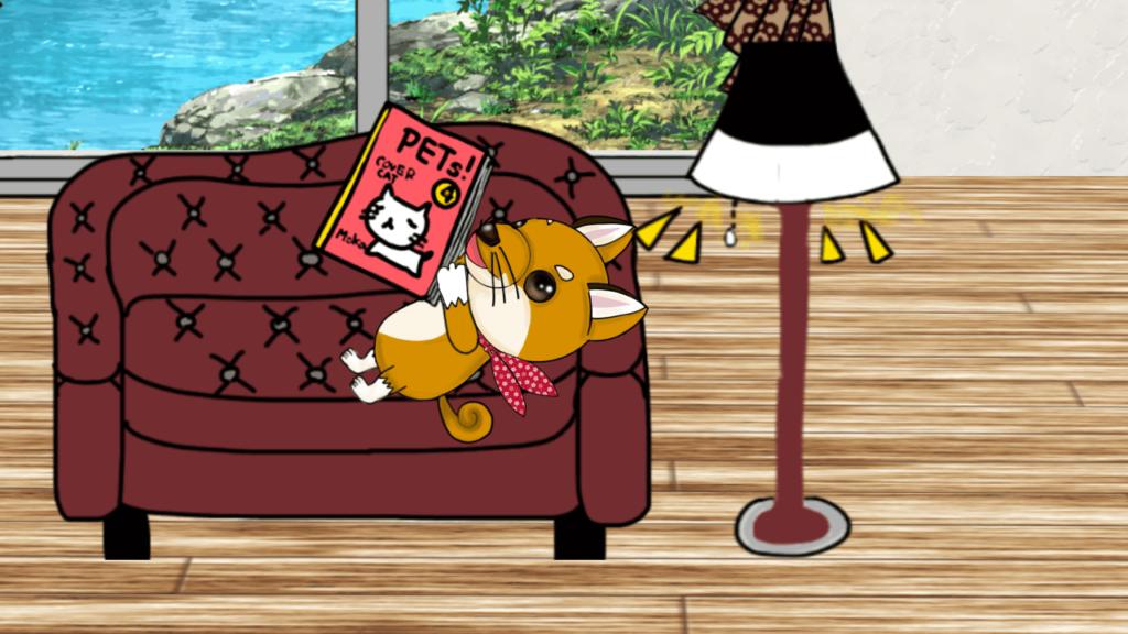ソファでくつろぐ relax