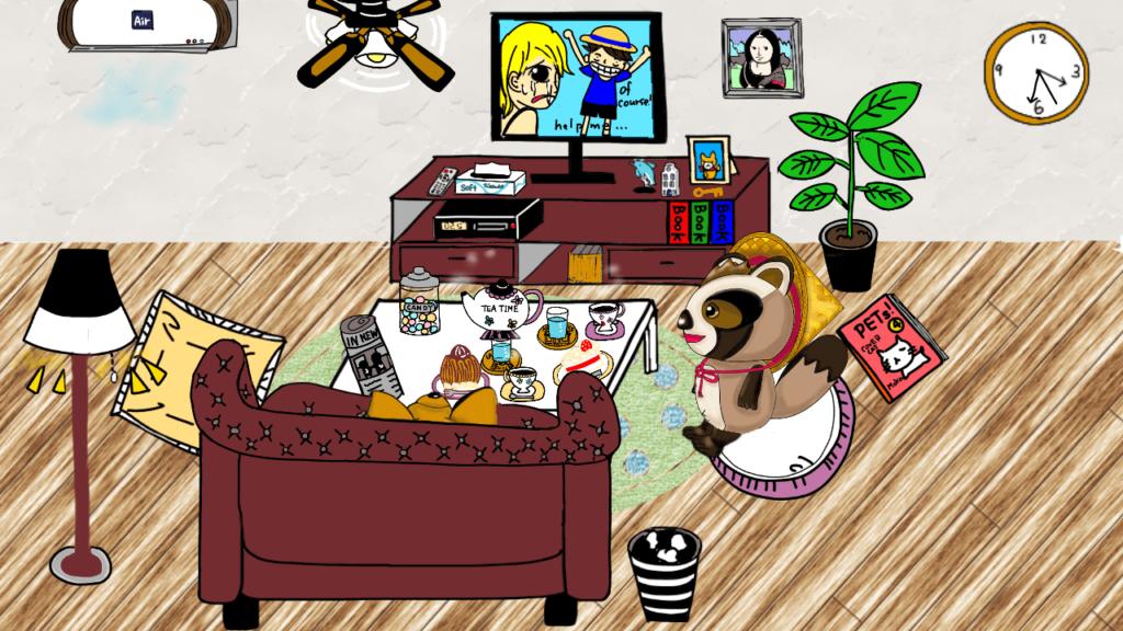 テレビを観る