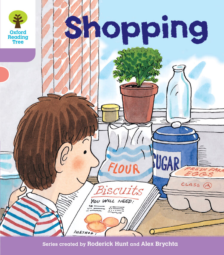 Shopping oxfor reading tree