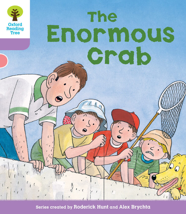 the enormous crab oxford reading tree